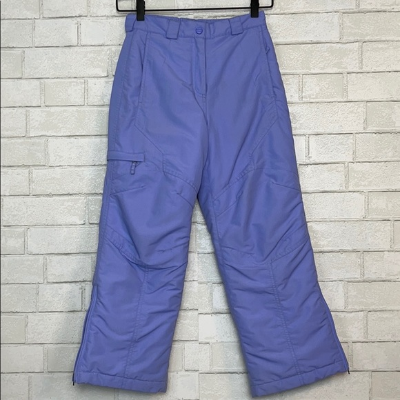 L.L. Bean Other - LL Bean Kids Purple Cold Buster Snow Pants 8